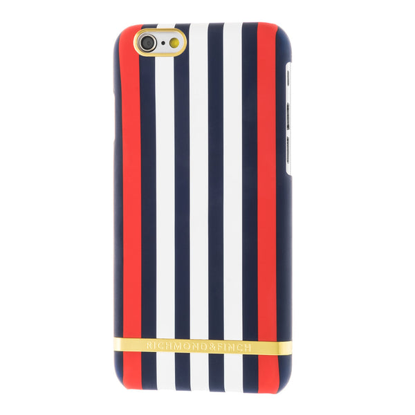 richmond & finch monaco satin stripes phone case - iPhone 6/6S