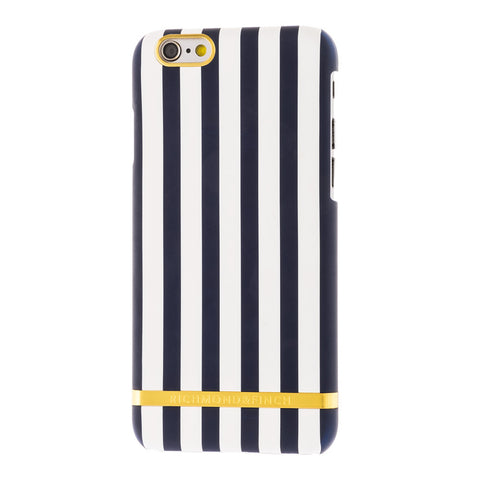 richmond & finch nautical satin stripes phone case - iPhone 6/6S