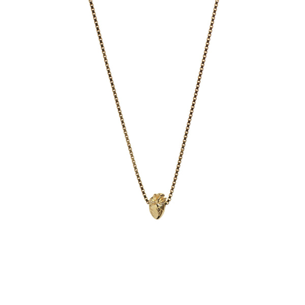 Aletheia & Phos I Carry Your Heart Necklace - Gold