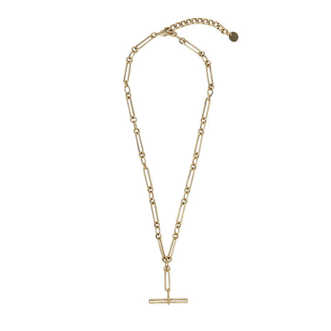 Kitte Heirloom Fob Necklace - Gold