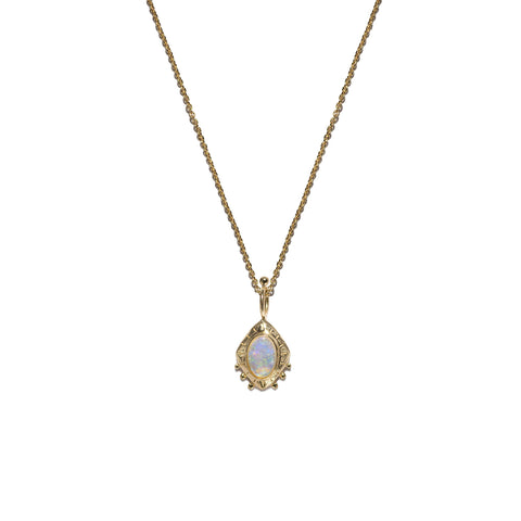 Aletheia & Phos Eye Of The Cosmos Necklace - Gold & Opal