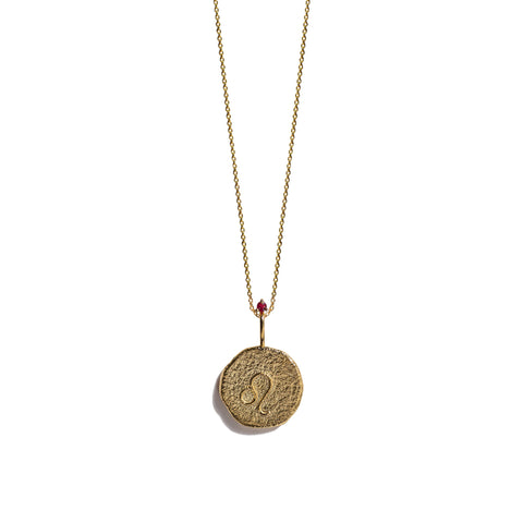 Aletheia & Phos Zodiac Collection - Gold Leo