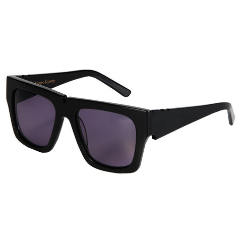 pared eyewear 'bigger and better' sunglasses - black