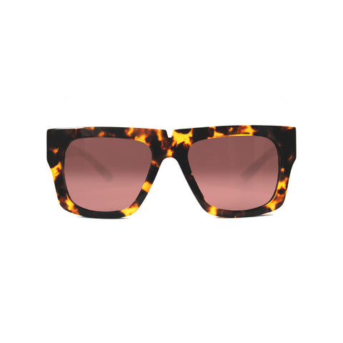 pared eyewear 'bigger and better' sunglasses - dark tortoise