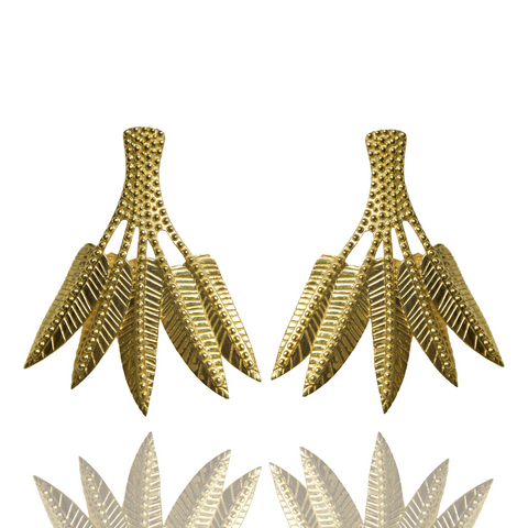 Mountain & Moon Ravella Palm Earrings