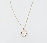 Reliquia Mini Gold Lucky Coin Pendant