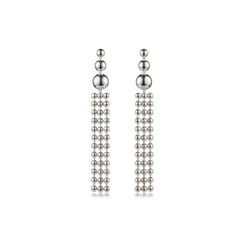 sarina suriano ad astra earrings - rhodium