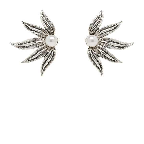 Kitte Encore Earrings - Silver
