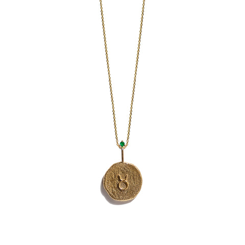 Aletheia & Phos Zodiac Collection - Gold Taurus