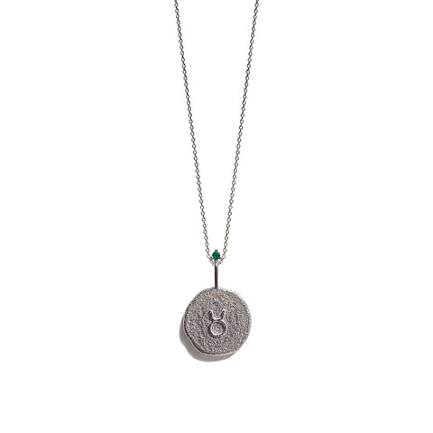 Aletheia & Phos Zodiac Collection - Silver Taurus