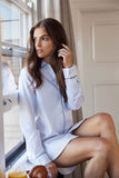 Wanderluxe Sleepwear - The Audrey Night Shirt