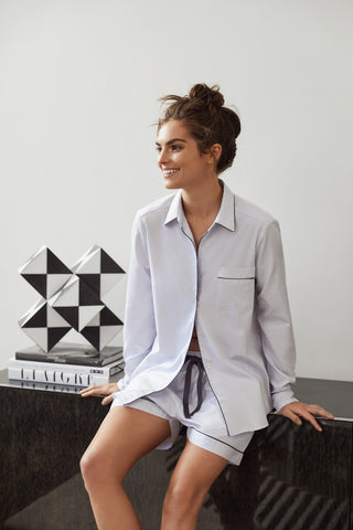 Wanderluxe Sleepwear - The Audrey Boxer Set