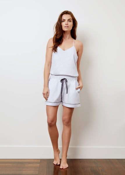 Wanderluxe Sleepwear - The Audrey Camisole Boxer Set