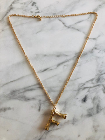 AlphaBetty F Necklace