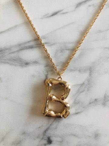 AlphaBetty B Necklace