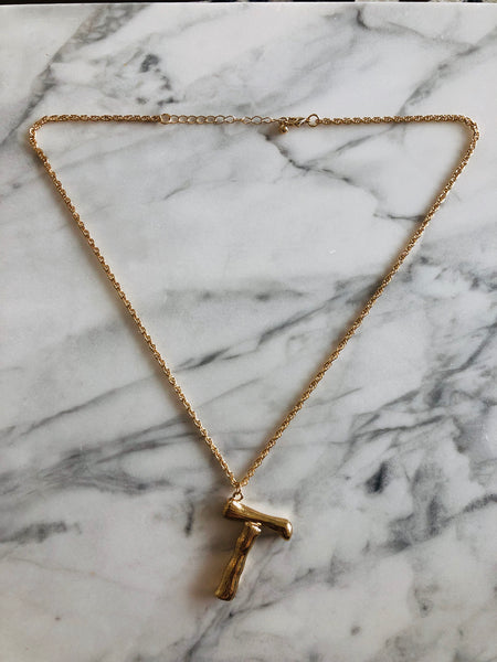 AlphaBetty T Necklace