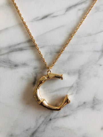 AlphaBetty C Necklace
