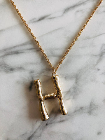 AlphaBetty H Necklace