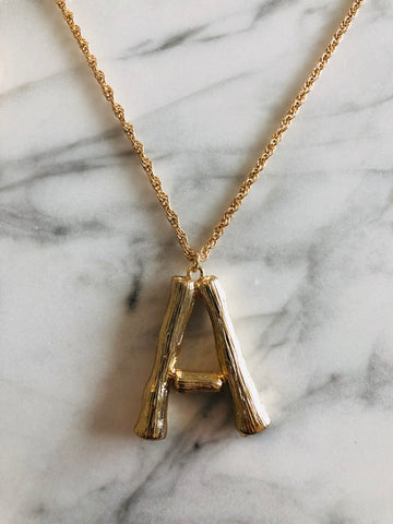 AlphaBetty A Necklace