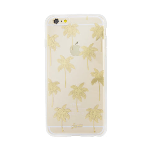 sonix clear coat for iPhone 6/6S - 'palm beach' - gold