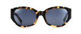 Pared Eyewear 'Diamonds & Pearls' Sunglasses - Tortoise/Black