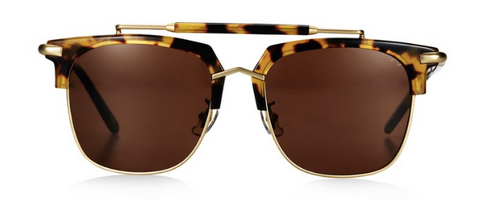 Pared Eyewear 'Cocktails & Dreams' Dark Tortoise & Gold