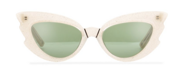 Pared Eyewear x Emma Mulholland Sunglasses - Stargazers White Glitter