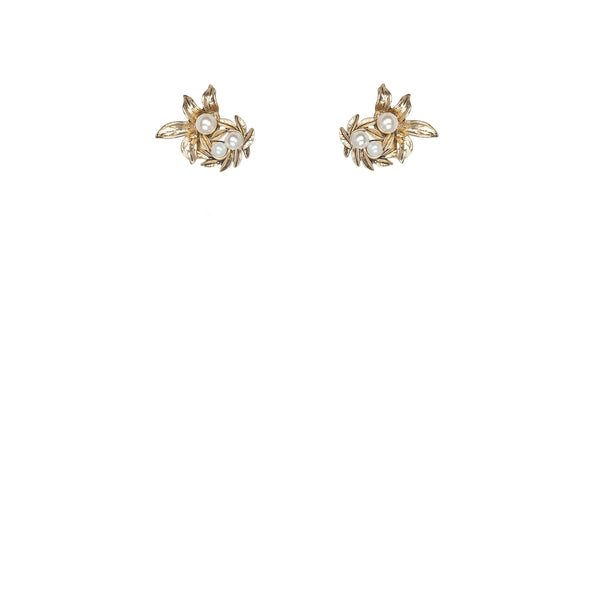 Kitte Island Luxe Stud Earrings - Gold