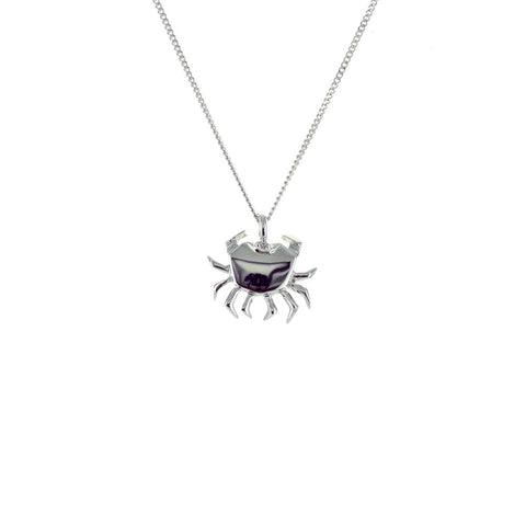 claire naa origami jewellery - 'silver crab'