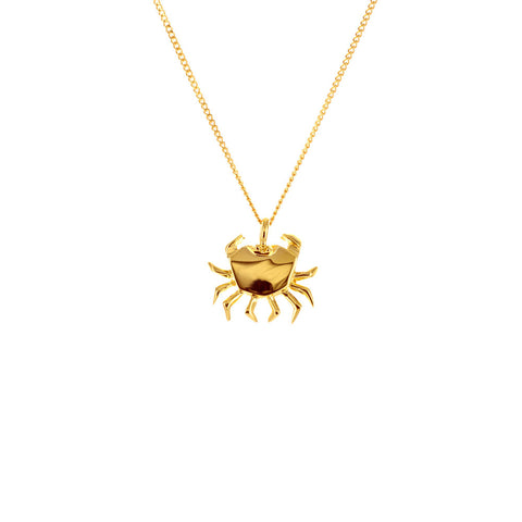 claire naa origami jewellery - 'gold crab'