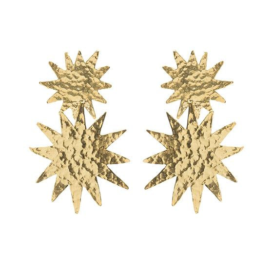 Christie Nicolaides Bellatrix Earrings - Gold