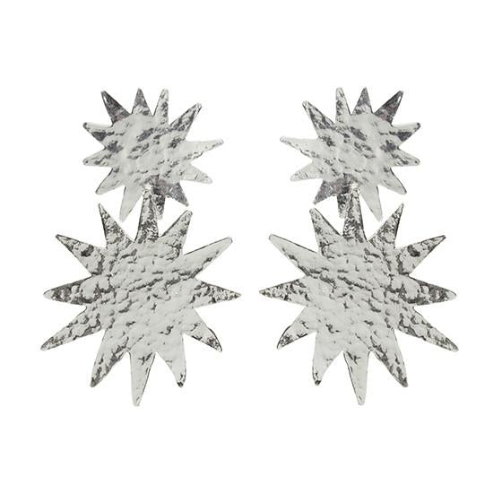 Christie Nicolaides Bellatrix Earrings - Silver