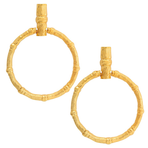 Christie Nicolaides La Bamba Hoops - Gold
