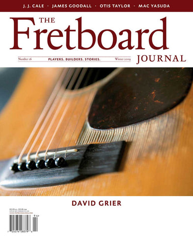 Fretboard Journal #16 - The Fretboard Journal