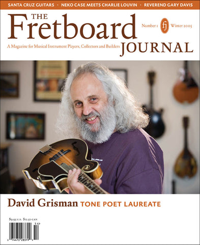 Fretboard Journal #1 - The Fretboard Journal