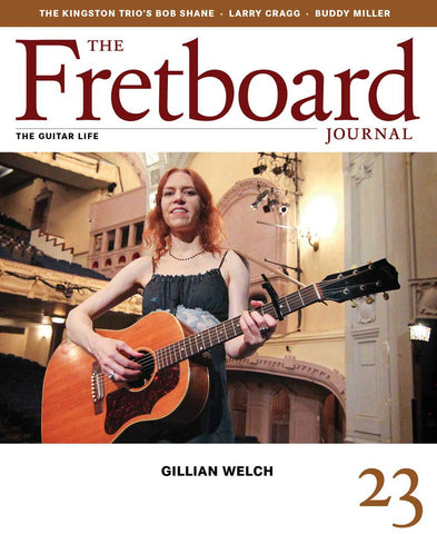 Fretboard Journal #23 - The Fretboard Journal