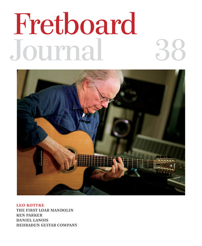 Fretboard Journal #38 - The Fretboard Journal