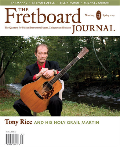 Tony Rice Feature PDF - The Fretboard Journal