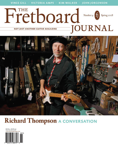 Fretboard Journal #9 - The Fretboard Journal