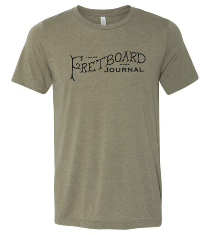 New 2019 Fretboard Journal T-Shirt
