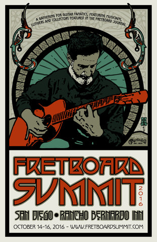 Fretboard Summit Poster - 2016 - The Fretboard Journal