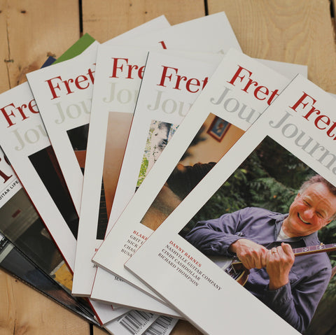 Fretboard Journal Subscription Renewal - One Year - The Fretboard Journal