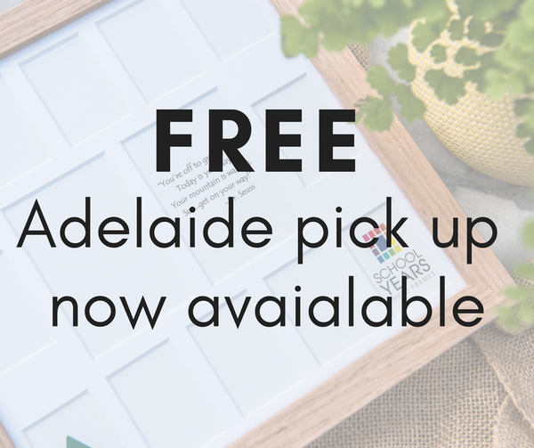 FREE Adelaide Pick Up Now Available