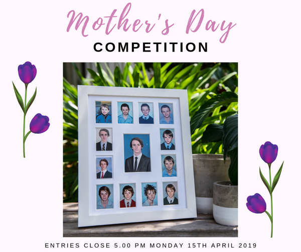 Win 2 Frames for Mother's Day