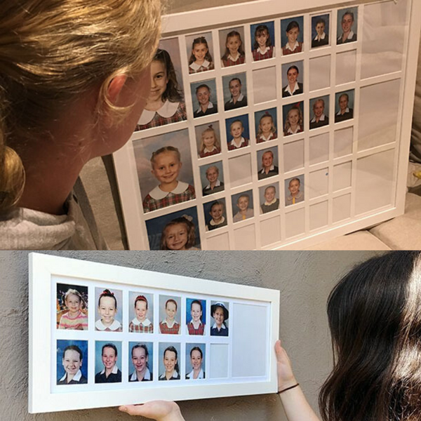 REVIEW: 3 Families test and review School Years Photo Frames
