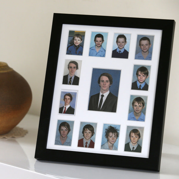 Signature School Years Frame Black School Years Photo Frames