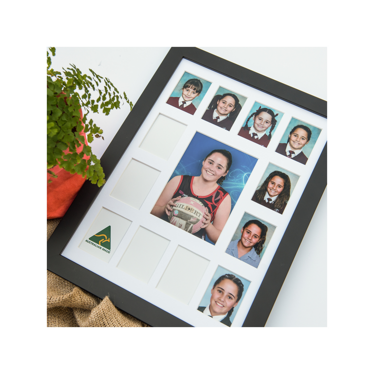 Large School Years Photo Frames- 13 Spaces      PORTRAIT ORIENTATION