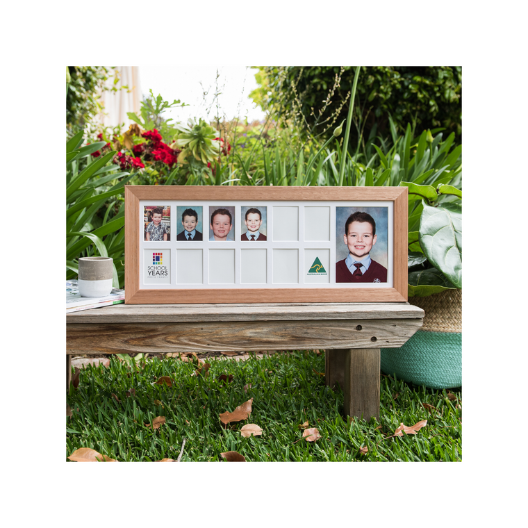 Large Landscape School Years Photo Frames - (13 Spaces) NEW