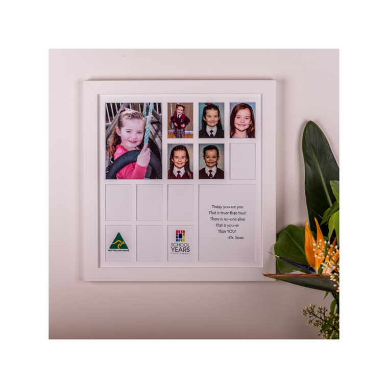 Large School Years Photo Frame (14 Spaces) NEW