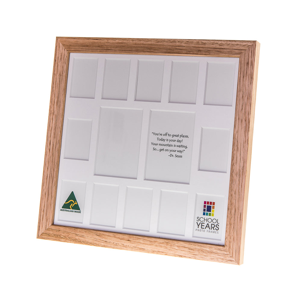 IMPERFECT - Signature School Years Frame (with Pre-School) - Oak ...
